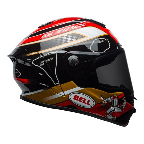 Bell Star MIPS Road Helmet - Isle Of Man 18.0 Black Gold