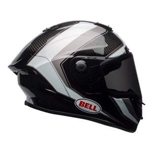 Bell Race Star Road Helmet - Sector Gloss White Titanium Carbon