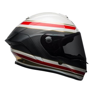 Bell Race Star Road Helmet - RSD Formula White Red Carbon