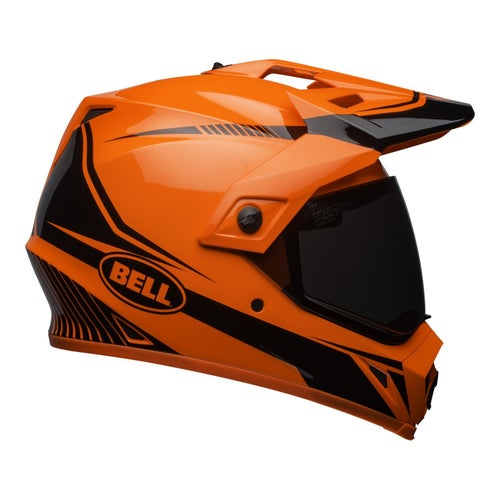 Bell MX9 Adventure MIPS Torch Dual Road and Motocross Helmet - Hi Vis Orange Black