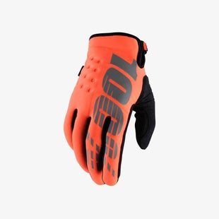 100 Percent Brisker Cold Weather Motocross Gloves - Caltrans