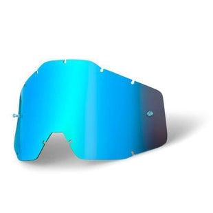 100 Percent Anti Fog YOUTH Motocross Goggle Lense - Mirror Blue