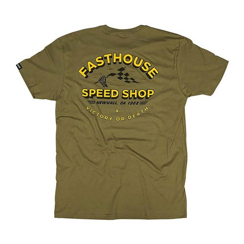Fasthouse Fh Bones Short Sleeve T-Shirt - Olive