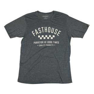 Fasthouse Fh Daily Short Sleeve T-Shirt - Antique Denim