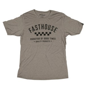 Fasthouse Fh Daily Short Sleeve T-Shirt - Ash