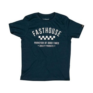 Fasthouse Fh Daily Youth Short Sleeve T-Shirt - Navy