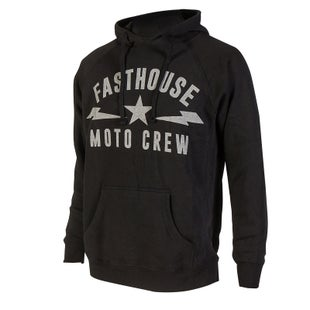Fasthouse Moto Crew Bolt Pullover Hoody - Black