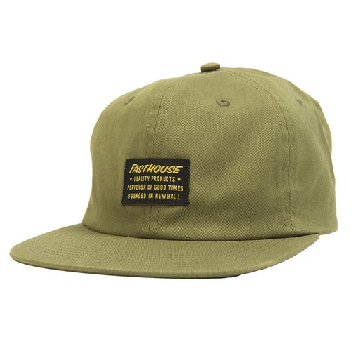 Fasthouse Neighborhood Unstructured Cap - Olive