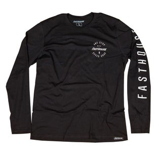 Fasthouse Simple Long Sleeve T-Shirt - Black