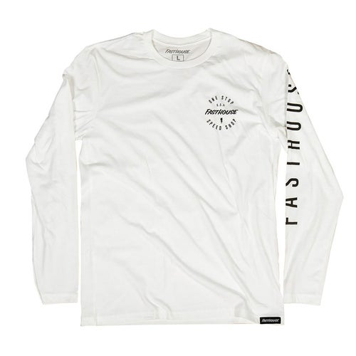 Fasthouse Simple Long Sleeve T-Shirt - White