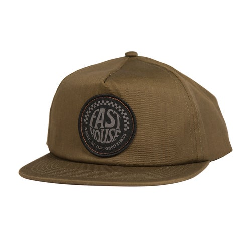 Fasthouse Stamped Spade Cap - Olive