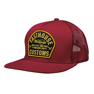 Cappello Fasthouse Worldwide - Maroon