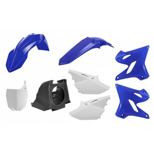 Plastic Kit Polisport Plastics Box Kit Yamaha YZ125 250 0214 Restyling Kit 15 - 18 OEM