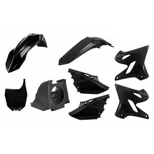 Polisport Plastics Box Kit Yamaha YZ125 250 0214 Restyling Kit 15 Plastic Kit - 18 Black