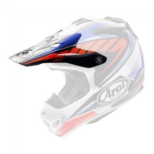 Arai MXV Rumble Helmet Peak - Blue