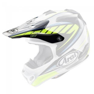 Arai MXV Rumble Helmet Peak - Yellow