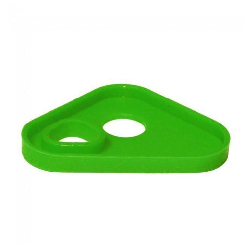 Apico Brake Pedal Tip Replacement Silicon Insert MX Brake Pedal - Green