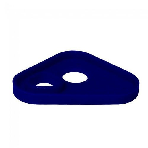 Apico Brake Pedal Tip Replacement Silicon Insert MX Brake Pedal - Blue