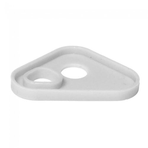 Apico Brake Pedal Tip Replacement Silicon Insert MX Brake Pedal - White
