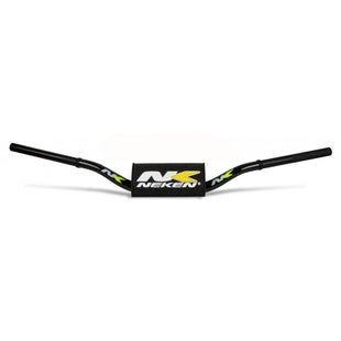 Neken Oversized Fat Bar Handlebars Factory Black Yellow Bar Pad Motocross Handlebars - 997 Carmicha