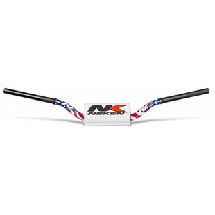 Neken Oversized Fat Bar Handlebars Team USA Inc Bar Pad Motocross Handlebars - 85cc High