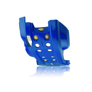 Cycra Full Combat Skid Plate Husqvarna FE 350 1416 Skid And Bash Plate - Blue