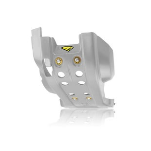 Cycra Full Combat Skid Plate Husqvarna FE 250 1416 Skid And Bash Plate - Gray