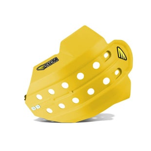 Cycra Full Armor Skid Plate Husqvarna FE 250 1416 Skid And Bash Plate - Yellow