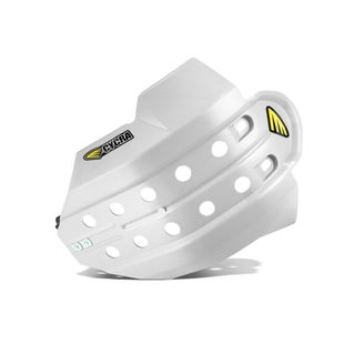 Cycra Full Armor Skid Plate Husqvarna FE 350 1416 Skid And Bash Plate - White