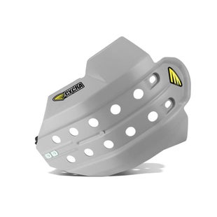 Cycra Full Armor Skid Plate Husqvarna FC 450 1415 Skid And Bash Plate - Gray