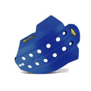 Cycra Full Armor Skid Plate Husqvarna FC 450 1415 Skid And Bash Plate - Blue