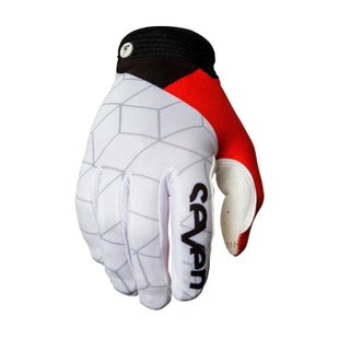 Seven 162 Zero Diverge Motocross Gloves - White