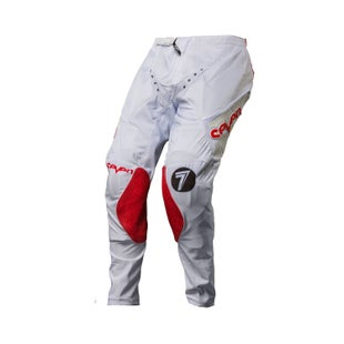 Seven 171 Zero Blade Motocross Pants - White Red