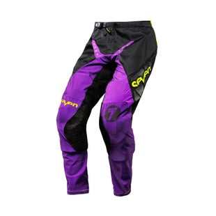 Seven 171 Zero Blade Motocross Pants - Black Purple