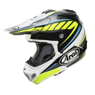 Arai MXV Motocross Helmet - Rumble Yellow
