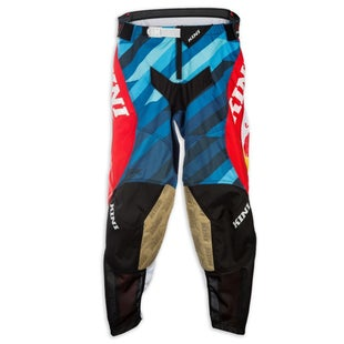 Kini Red Bull Competition MXPro Motocross Pants - White Blue
