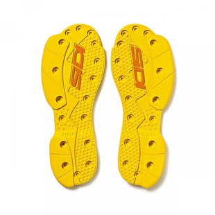 Sidi SMS Supermoto Replacement Soles Motocross Boot Spares - Yellow