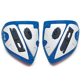 Motocross Boot Spares Sidi Crossfire Shin Deflector - Blue