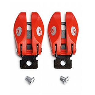 Motocross Boot Spares Sidi MX ST Pop Buckle - Red