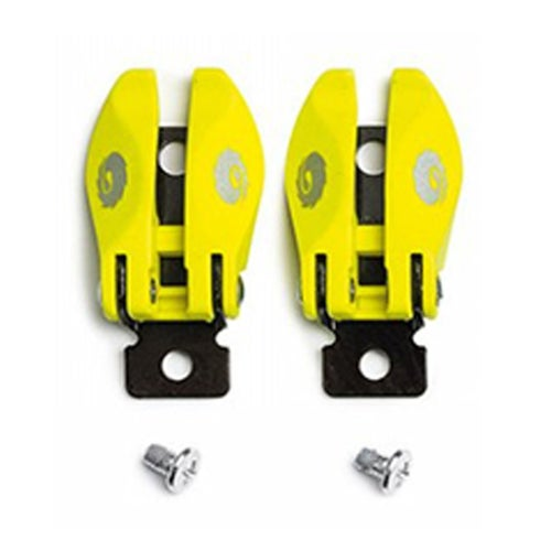 Sidi MX ST Pop Buckle , Motocross Boot Spares - Fluo Yellow