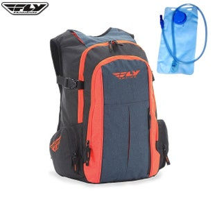Fly Jump Country BackPack Hydration Backpack - Grey Orange