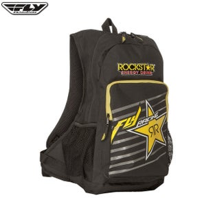 Fly Jump Pack BackPack Hydration Backpack - Rockstar Black Yellow