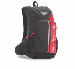 Fly Jump Pack BackPack Hydration Backpack - Red Black