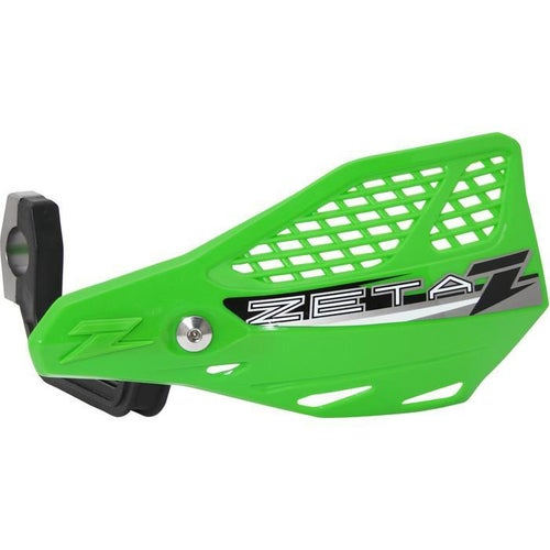 Zeta Stingray Vented Handguard Enduro and MX Hand Guard - Green