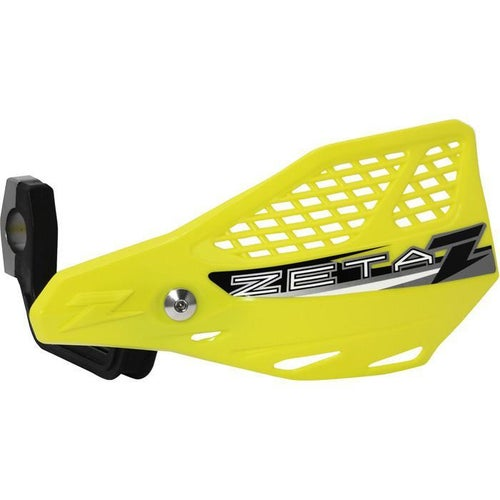 Zeta Stingray Vented Handguard Enduro and MX Hand Guard - Yellow