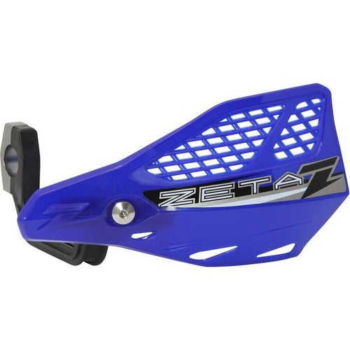 Zeta Stingray Vented Handguard Enduro and MX Hand Guard - Blue
