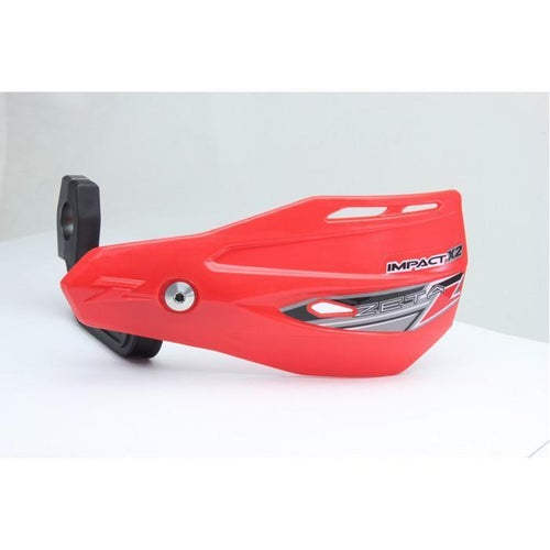 Zeta Impact X2 MX Hand Guard - Red