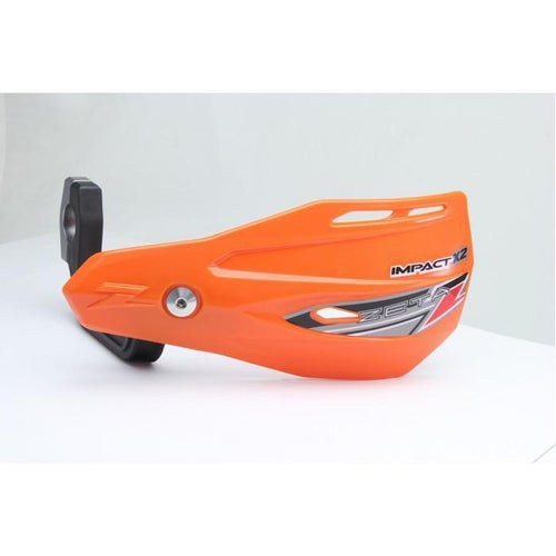 Zeta Impact X2 MX Hand Guard - Orange