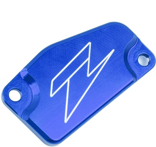 Zeta Clutch Reservoir Cover KTM Husqvarna 85 0317 Brake Reservoir Cover - Blue