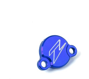 Zeta Rear Brake Reservoir Cover KTM Husqvarna 85 0317 Brake Reservoir Cover - Blue